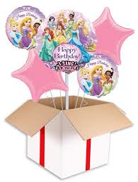 singing birthday balloons disney princess singing birthday balloon delivered inflated in uk