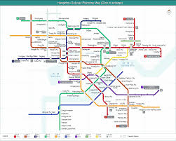 Shanghai Metro Map Hangzhou Metro Map Hangzhou Subway Transportation U2013 Mild China Tours