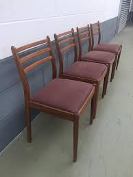 G Plan Dining Chair 4 Vintage Retro G Plan Dining Chairs In Northampton