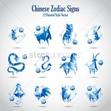 2017 chinese zodiac sign chinese zodiac signs vector image 1323238 stockunlimited