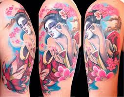 geisha pinup tattoo design tattoos book 65 000 tattoos designs