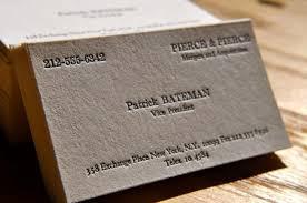 american psycho business cards danielpinchbeck net