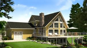 Cabin Ideas The Sylvan Lake Prefab Cabin And Cottage Plans Winton Homes
