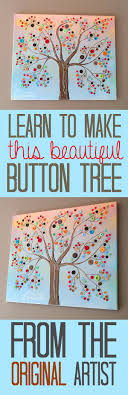 32 diy projects made with buttons button tree creative crafts