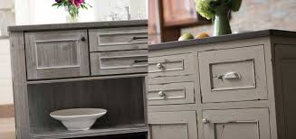 Paint Finishes For Kitchen Cabinets by Weathered Cabinets Barnwood Driftwood Distressed Cabinet Finishes