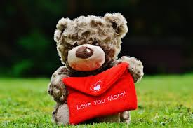 s day teddy free images heart thank you teddy background