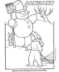 winter coloring pages christmas printables pinterest winter