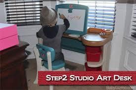Step 2 Art Desk by Step2 Studio Art Desk Review Video Baby Gizmo