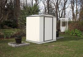 Suncast Horizontal Utility Shed Bms2500 by Amazon Com Arrow Ez6565lvcrcc Ezee Shed Low Gable 65