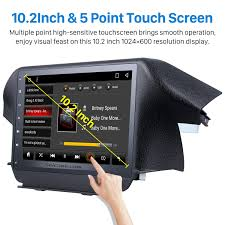 inch hd touch screen 2009 2014 honda odyssey android 6 0 radio gps