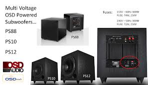 the best home theater subwoofer ps88 home theater subwoofer dual woofer compact design