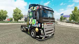truck volvo 2014 brasil 2014 skin for volvo truck for euro truck simulator 2