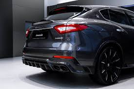 maserati tron maserati levante s gets upgrades from larte design drivers magazine