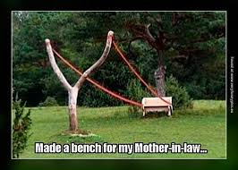 Bench Meme - slingshot bench for mother in law imglulz slingshot funny