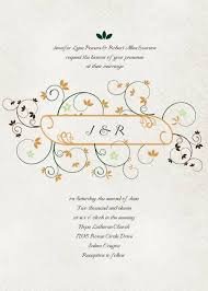 Custom Invitations Online Vintage Monogram Wedding Invitations Iwi055 Wedding Invitations