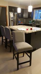 kitchen island chairs with backs best 25 counter height chairs ideas on chairs for