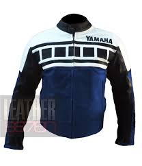 cheap motorbike clothing yamaha 6728 dark blue jacket cowhide motorbike leather jacket