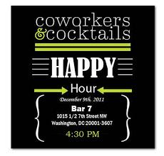 happy hour invite wording sles invitation templates happy