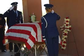 Flag Folding Ceremony Arizona Cemetery Honors Veterans