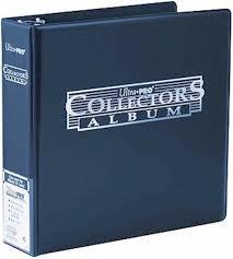 Pocket Pages Blue Ultra Pro Collectors Album Binder U0026 50 Platinum 9 Pocket