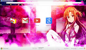 theme google chrome sword art online google chrome sword art online asuna by akw art design on deviantart