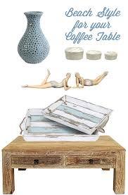 Coastal Style Coffee Tables Coastal Style Tables Room Ornament