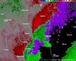 Ohio Radar Map by Tornado In Anderson Township Ohio