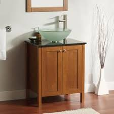 Bathroom Vanity Small by Style Selections Windell Auburn Integral Single Sink Bathroom