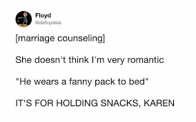 Fanny Pack Meme - dopl3r com memes floyd dafloydsta marriage counseling she