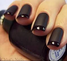 Black Manicure Designs 25 Glitzy Nail Designs For The Holidays