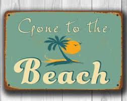 Vintage Beach Decor Mentally On The Beach 5x7 8x10 11x14 Prints Included