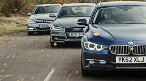 2009 audi a4 vs bmw 3 series bmw 3 series touring vs audi a4 avant vs mercedes c class estate