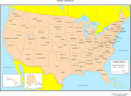 map of states and capitals in usa photos 50 states and capitals best resource with