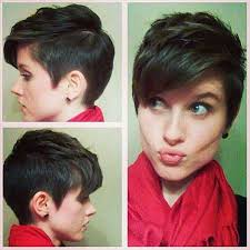 hair cut back shorter than front 30 short pixie cuts for women short hairstyles 2016 2017