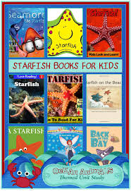 starfish books for kids ocean animals unit study u2013 3 boys and a dog