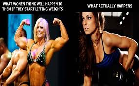 Muscle Woman Meme - building muscle for women and the benefits of creatine