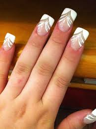 13 cute nail designs with white tips cute nail designs for prom