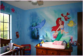 wonderful mermaid wall decals home decorations ideas image of mermaid wall decals ideas