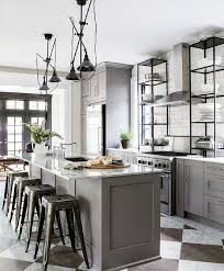 grey kitchen island 33 masculine kitchen furniture ideas that catch an eye digsdigs