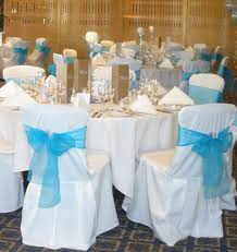 turquoise chair sashes turquoise wedding the idea of the bow on back of chairs