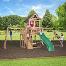 Playsets Outdoor 5 Of The Best Reviewed Cedar Playsetsoutdoor Play For All