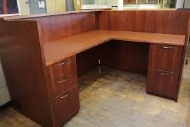 Custom Reception Desk Used Reception Desk Desk Design Custom L Shaped Reception Desk