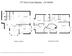 777 Floor Plan by 777 Erie Circle Milpitas Ca 95035