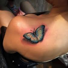 35 breathtaking butterfly tattoo designs for women butterfly 3d