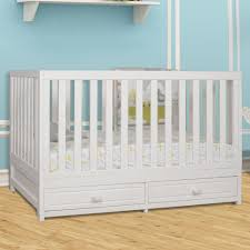Babyletto Mercer 3 In 1 Convertible Crib With Toddler Rail by Convertible Baby Cribs With Drawers Clover 4in1 Convertible Crib