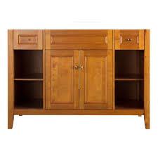 48 Inch Bathroom Vanities by Glacier Bay Regency 48 In W Bath Vanity Cabinet Only In White