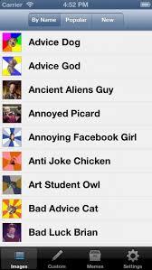 Advice Dog Meme Generator - meme generator by memecrunch entertainment app review ios free