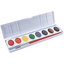 prang watercolor paint cakes assorted colors 8 pkg walmart com