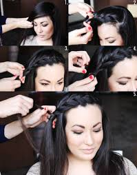 how to style a side braid two ways u2013 a beautiful mess