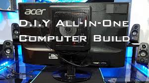 Pc Case Diy Diy All In One Pc Build Antec 25 Case Youtube